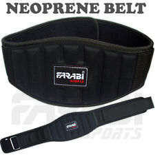 """Weight Lifting Belt Gym Fitness Workout Training Back support 6"""" Body Building"""