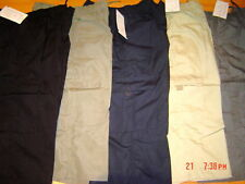 MENS WORK CARGO MULTI POCKET COTTON TROUSERS  S  -  3XL