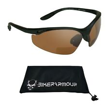 bifocal motorcycle biker riding hd sunglasses goggles safety sun glasses Z87