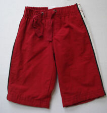 GYMBOREE BOYS RED WIND PANTS SIZE 0-3 Mos,3-6 Mos NWT