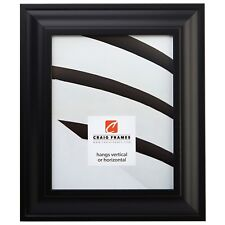 """Picture Frame Upscale Smooth Black 2"""" Wide Complete New Frame (21834700BK)"""