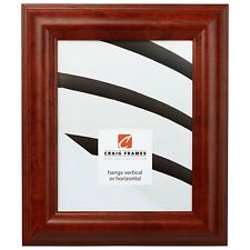 "Picture Frame Smooth Canadian Walnut Brown 2"" Wide Complete New Frame (88031)"
