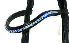 FSS 6mm Crystal Light Bleu Saphir Bling Browband fait avec SWAROVSKI ELEMENTS