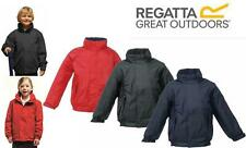 BOYS GIRLS REGATTA DOVER WATERPROOF FLEECE LINED JACKET