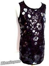 NEW GIRLS BEAUTIFUL SPARKLY SEQUIN PARTY DANCE EVENING DRESS/TOP 7-13 years