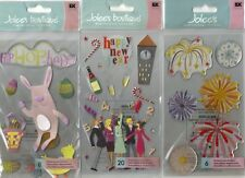 Jolee's Boutique LE GRANDE Assorted STICKERS 3D Choice SCRAPBOOKING Jumbo Size