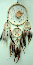Handmade Native American Indian Dreamcatcher Suede Leather Bad Dream Catchers