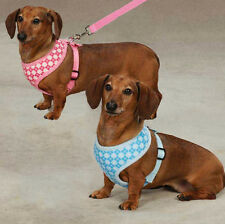 Soft Fabric Prep School Dog Harness  Harnesses East Side Collection  leash lead