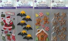 SANDYLION Assorted STICKERS 3D Choice CHRISTMAS WEDDING BEES HALLOWEEN BABY&more