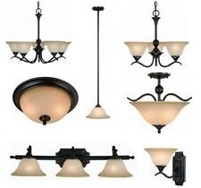 Oil Rubbed Bronze Bathroom Vanity, Ceiling Lights & Chandelier Lighting Fixtures