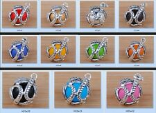 925 Silver angel'sound Harmony bell Mexican Chime PENDANT DIY choice H31