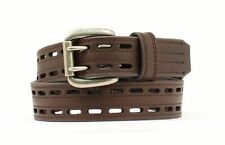 HD Xtreme Men's Brown Leather Work Belt by Nocona N2710802