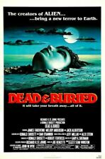 DEAD AND BURIED 01 B-MOVIE REPRODUCTION ART PRINT CANVAS A4 A3 A2 A1