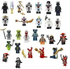 Lego Ninjago Loose Bad Guys Skeletons, Snakes, Stone Army, Nindroids - U Pick!