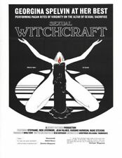 HIGH PRIESTESS OF SEXUAL WITCHCRAFT 1 B-MOVIE REPRO ART PRINT A4 A3 A2 A1