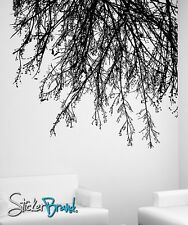 Vinyl Wall Decal Sticker Tree Branches Hanging Down 804