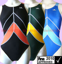 NWT YINGFA 955 COMPETITION RACING SWIMSUIT US MISS 2,4,6,8,10,12 [FINA APPROVED]