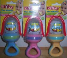 New Nuby The Nibbler, Baby Shower, BPA Free, 10+ Months, Fruits, Veggies