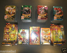 DINOSAUR KING TRADING CARD GAME 6 x BOOSTER PACKS IN COLLECTABLE TIN
