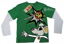 Boys Danger Mouse Good Grief! Long Sleeve Top Ages 4-12 Years