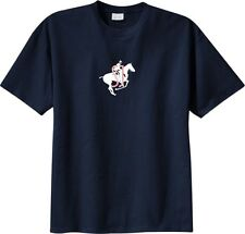 Show Jumping Horse and Rider with Shimmering SJ T-Shirt Multiple Colors & Sizes