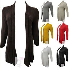 NEW LADIES PLUS SIZE CABLE KNIT LONG SLEEVE CARDIGANS KNITTED CARDIGANS 16-26