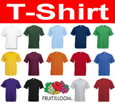 FRUIT OF THE LOOM T-Shirt Gr. S M L XL XXL XXXL 3XL NEU