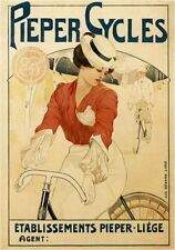 Vintage Poster Pieper Cycles VCP102 Art Print Poster A4 A3 A2 A1