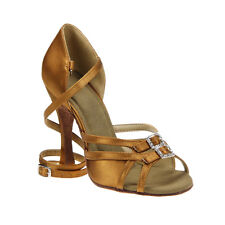 *6 COLORS AVAILABLE WIDTH ADJUSTABLE WOMEN'S PRO.LATIN BALLROOM DANCE SHOES_S297