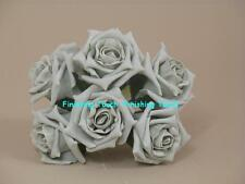 ARTIFICAL FLOWERS WEDDING   BRIDE . Bridesmaids..Button Hole .. Roses.. SILVER