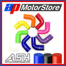 90 Degree Silicone Elbow Radiator Hose Pipe Silicon Rubber Bend Coolant Air Tube