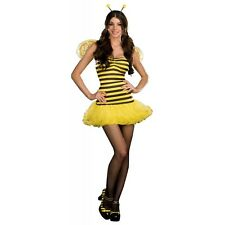 Honey Bee Bumble Queen Costume Halloween Fancy Dress