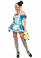 Leg Avenue Womens Sexy Alice In Wonderland Fairy Tale Princess Halloween Costume