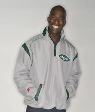 NEW YORK NY JETS JACKET 1/4 ZIP LIGHTWEIGHT NFL OFFICIALLY LICENSED