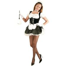 French Maid Costume Adult Sexy Halloween Fancy Dress