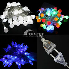 220V 100 LED 10M String Lights Christmas Tree/Party/Wedding Decor