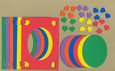 Your choice of colors on Deco Frames #2 Die Cuts - AccuCut