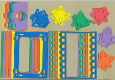 Your choice of colors on Photography Sets Die Cuts - AccuCut