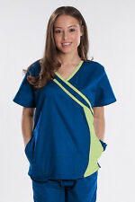 Rockhopper New Nursing Uniform Women Scrub Set Top Pant Royal Blue with Celdadon