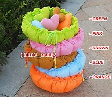 Pretty Dog Cat Bed House Sofa Kennel 5colors Sale+Pillow
