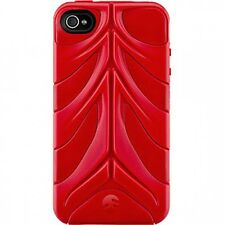 SWITCH EASY CAPSULE REBEL CASE COVER FITS IPHONE 4 4S RED TOUGH HARD CASE