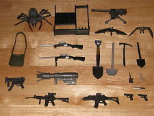 "PRIMEVAL  - ACCESSORIES FOR 5"" ACTION FIGURES  - GUNS / WEAPONS / SANDWORM"
