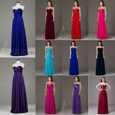 Angel Women's Dresses Bridesmaid Evening Party Formal Prom Gown In Stock