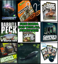 Korda NEW Carp Fishing DVD's And Books *Complete Range, ALL TITLES*