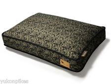 Frolic Natural Cotton & Eco-Friendly Polyfill Dog Bed - Brown S / M / L