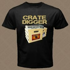 CRATE DIGGER hip hop house music turntable vinyl records store DJ T-SHIRT R06