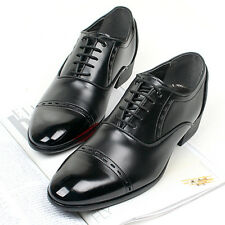 New Mens Stylish Dress Formal Casual Mens Oxford Shoes Black
