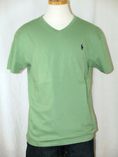 Polo Ralph Lauren Green V-Neck T-Shirt Navy Polo Pony S M L XL XXL NWT