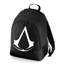 BNWT ASSASSINS CREED GAMING XBOX PS3  COLLEGE BACKPACK RUCKSACK SCHOOL BAG