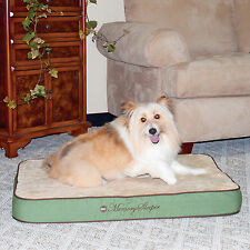 "3.75"" Thick Memory Foam Orthopedic Dog & Pet Bed: Sage"